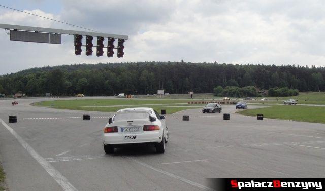 GT4, Evo i Impreza podczas treningu na Torze Kielce 7 czerwiec
