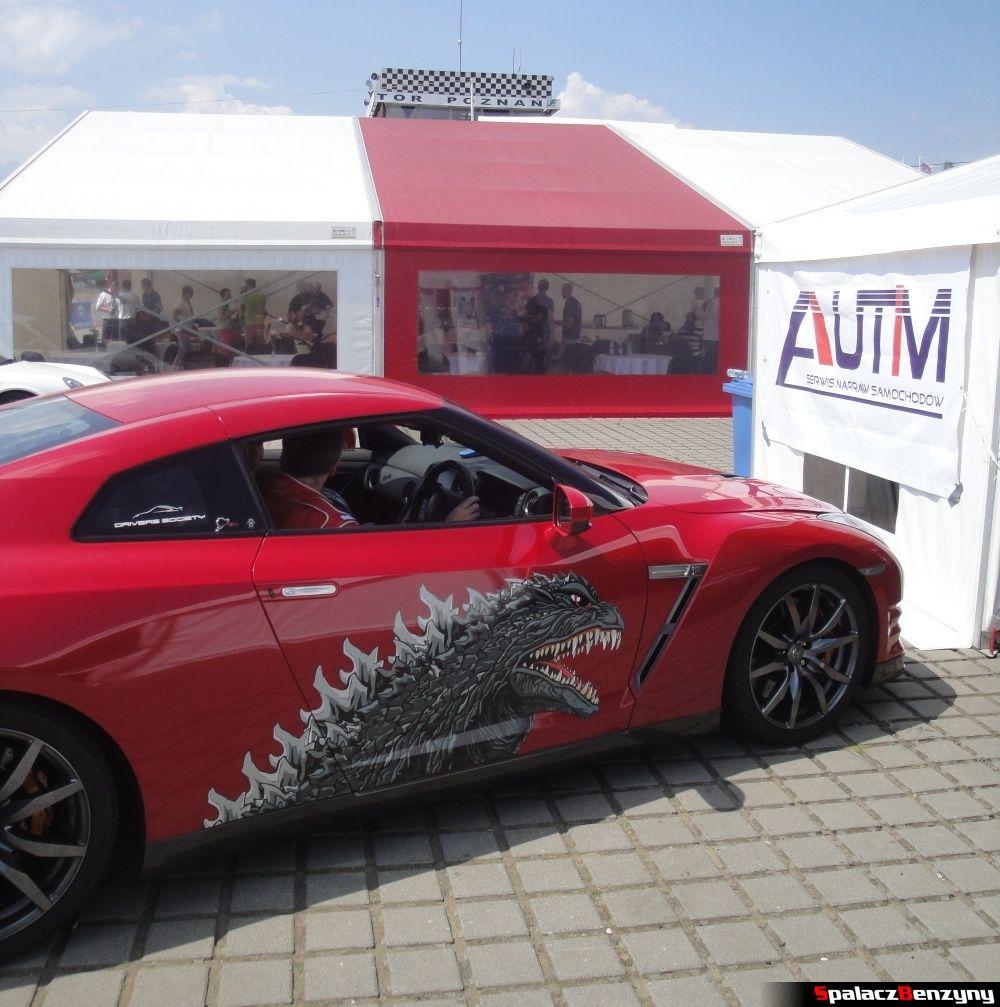 GT-R Godzilla na torze w Poznaniu na Gran Turismo Polonia 2013