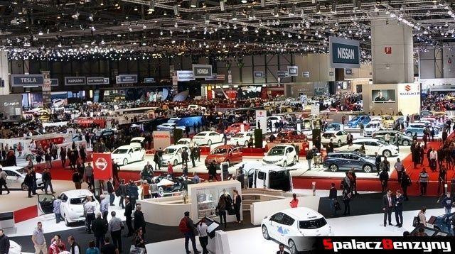 Hala Genewa Motor Show 2014