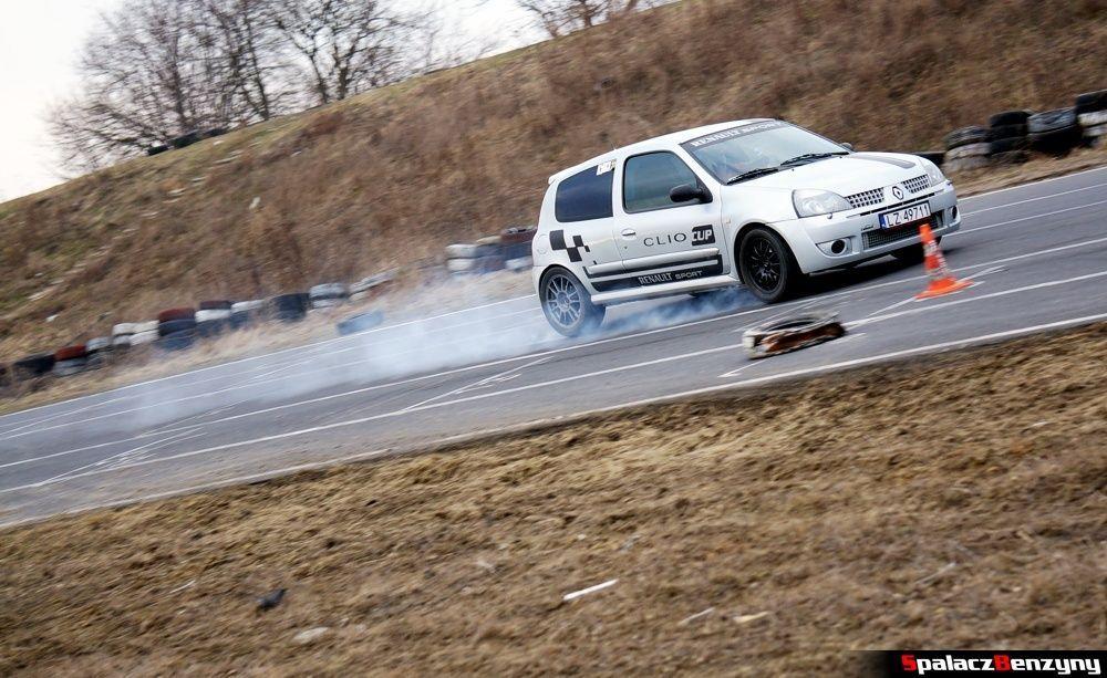 Hamowanie Renault Clio na RS Kulig 2014 Tor Lublin