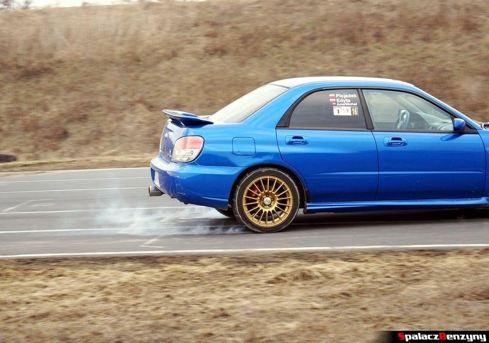 Hamowanie Subaru Impreza WRX na RS Kulig 2014 Tor Lublin