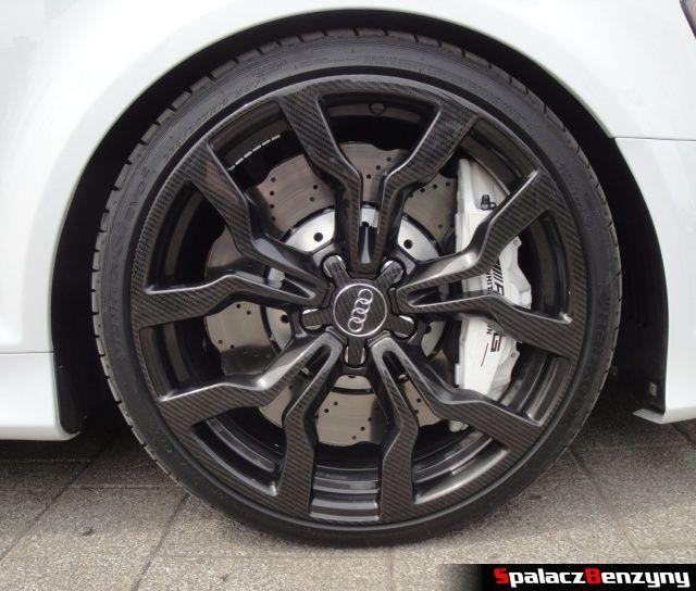 Hamulce i koło karbonowe Audi RS3 na Worthersee 2013
