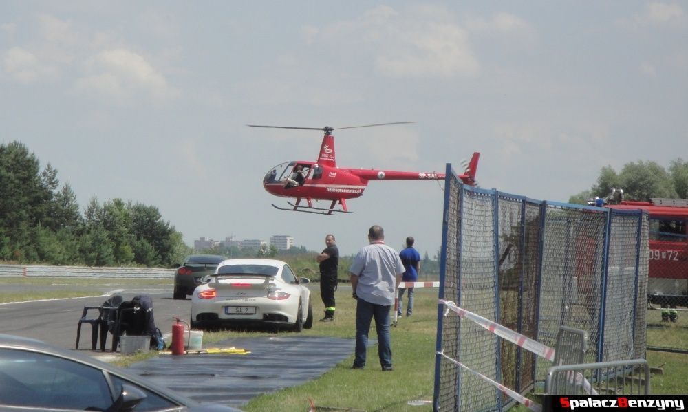 Helikopter na torze w Poznaniu na Gran Turismo Polonia 2013