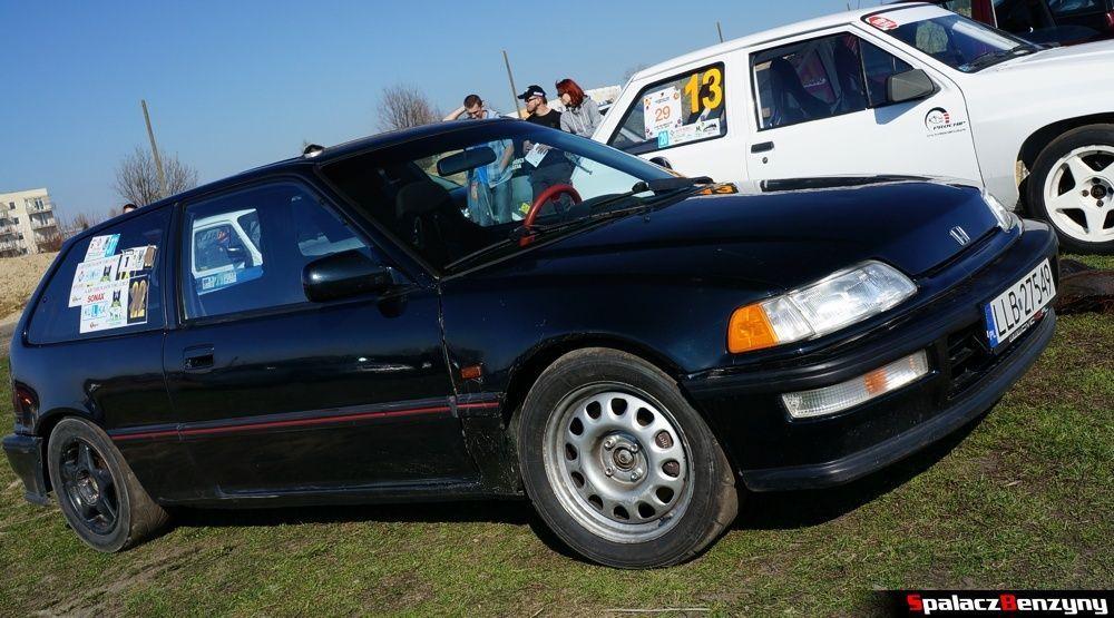 Honda civic czarna na RS Auto Euro Tor Lublin 2014