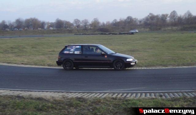 Honda Civic czarna na RS Browar Jagiełło 2012 w Lublinie