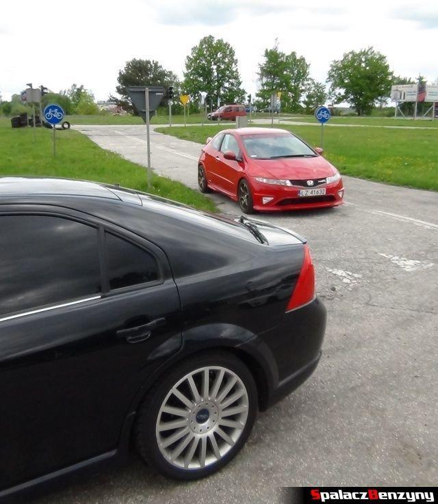Honda Civic type-r i Ford mondeo na Rally Sprint w Biłgoraju 13 maj 2012