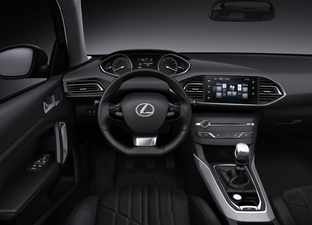 i-Cockpit Lexus