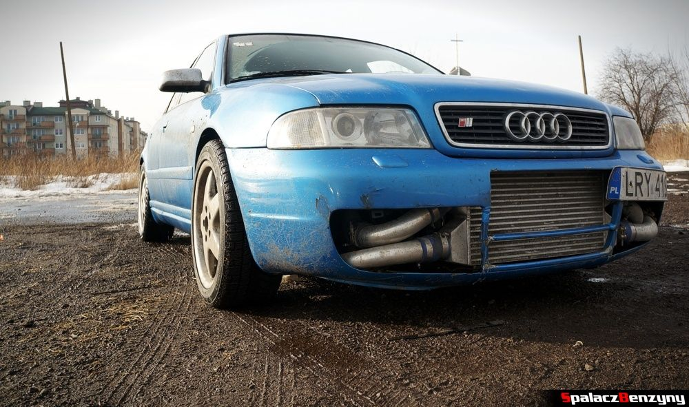 Intercooler Audi S4 na Rally Sprint 9 luty 2014