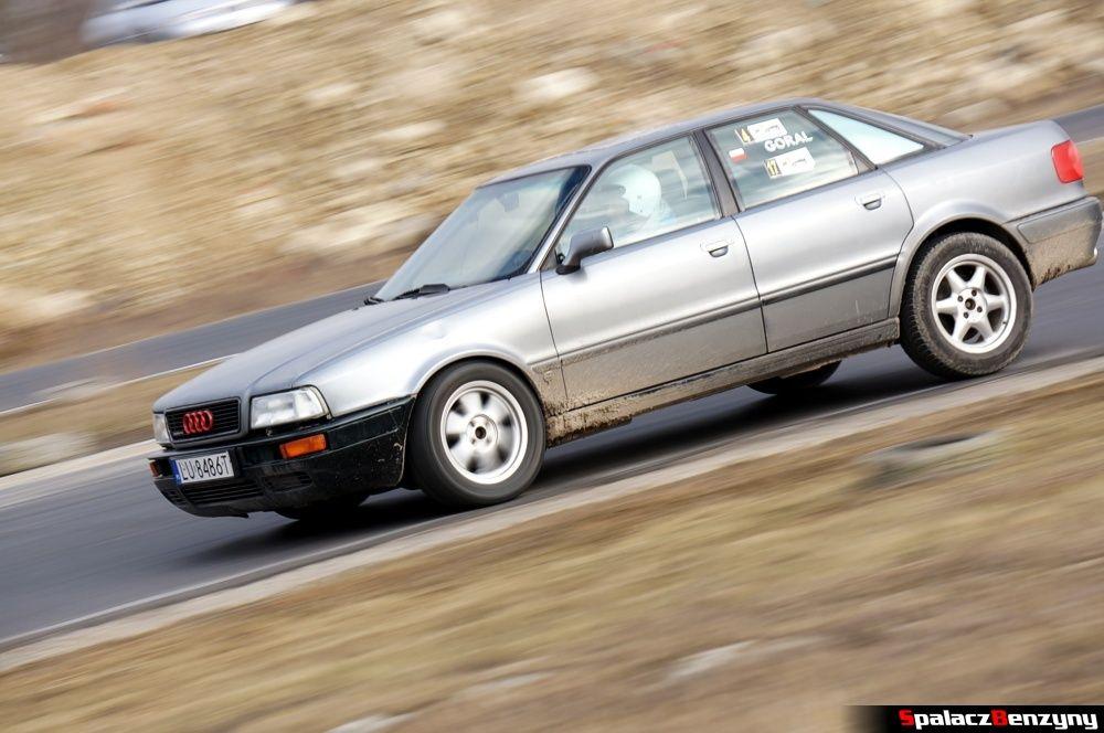 Jazda Audi 80 quattro na RS Kulig 2014 Tor Lublin