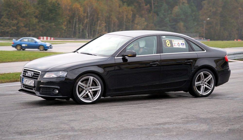 Jazda Audi A4 na 10. rundzie SuperOES Tor Kielce 2014