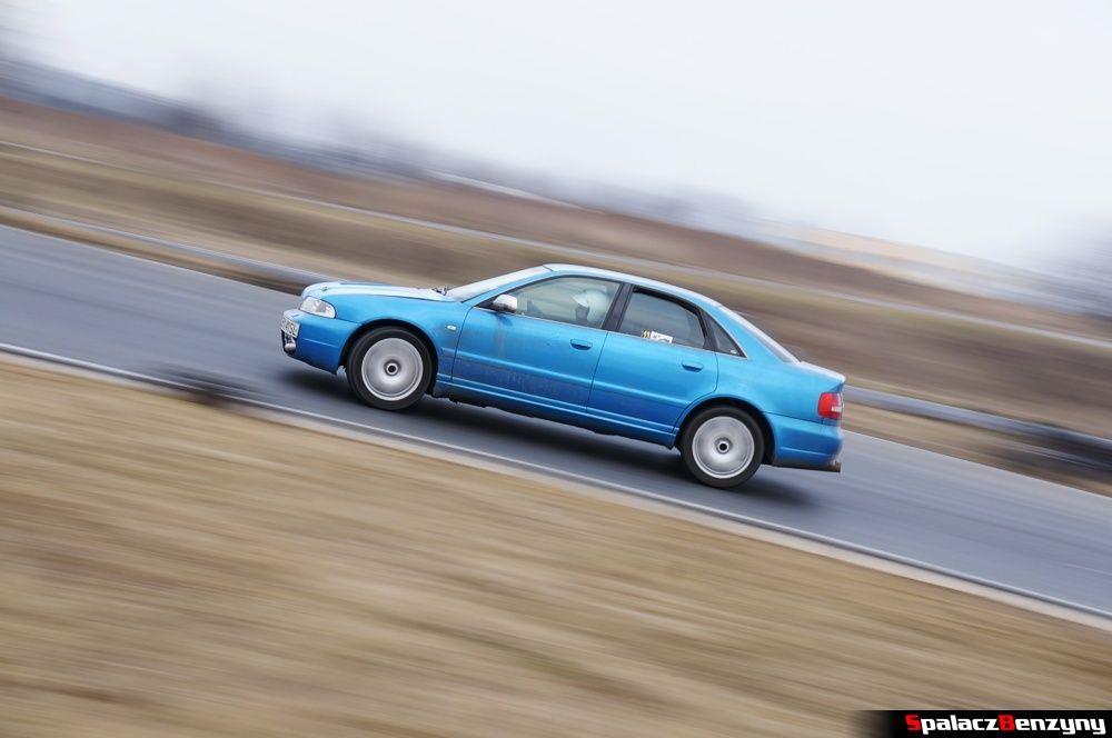 Jazda Audi S4 na RS Kulig 2014 Tor Lublin