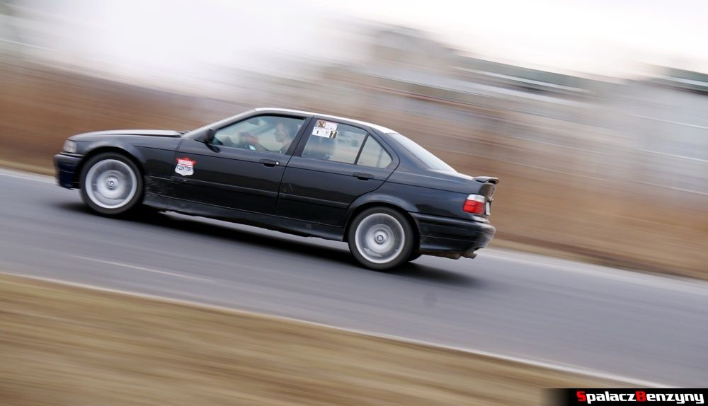 Jazda BMW 3er  na RS Kulig 2014 Tor Lublin