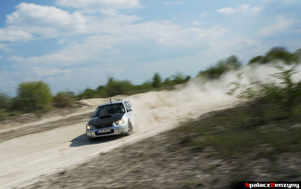 Jazda bokiem Subaru Impreza WRX na szutrowy RS Chełm 1 maja 2014