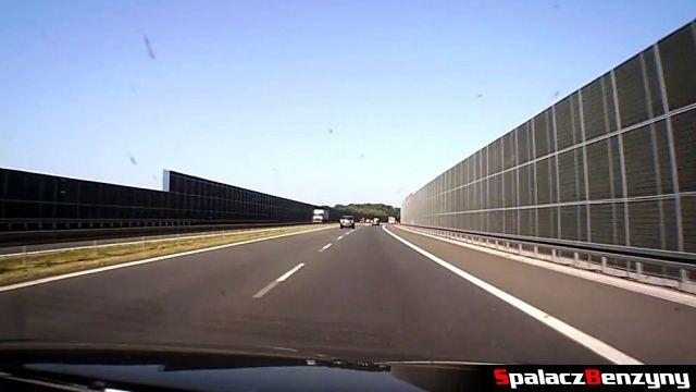 Jazda po autostradzie A4