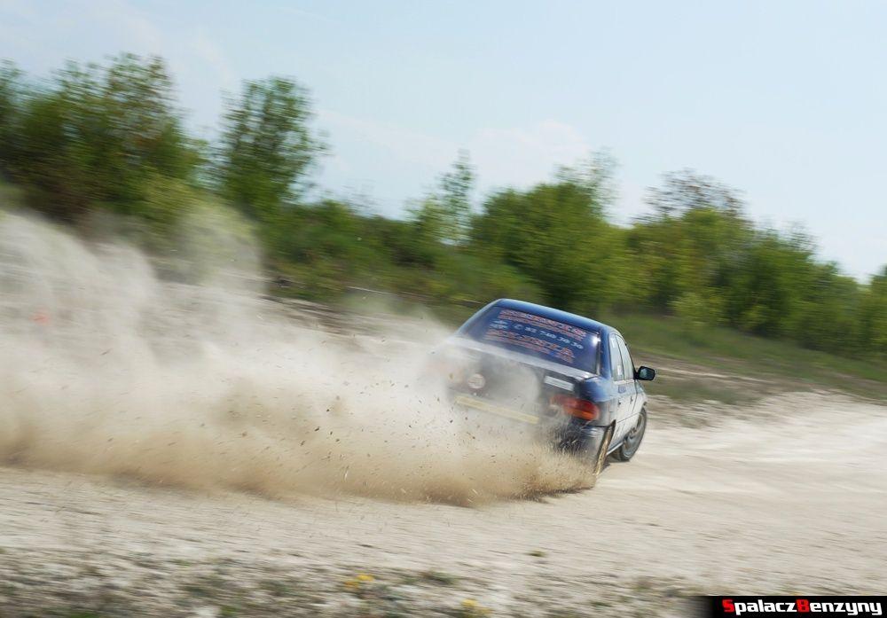 Jazda Subaru Impreza GT na szutrowy RS Chełm 1 maja 2014