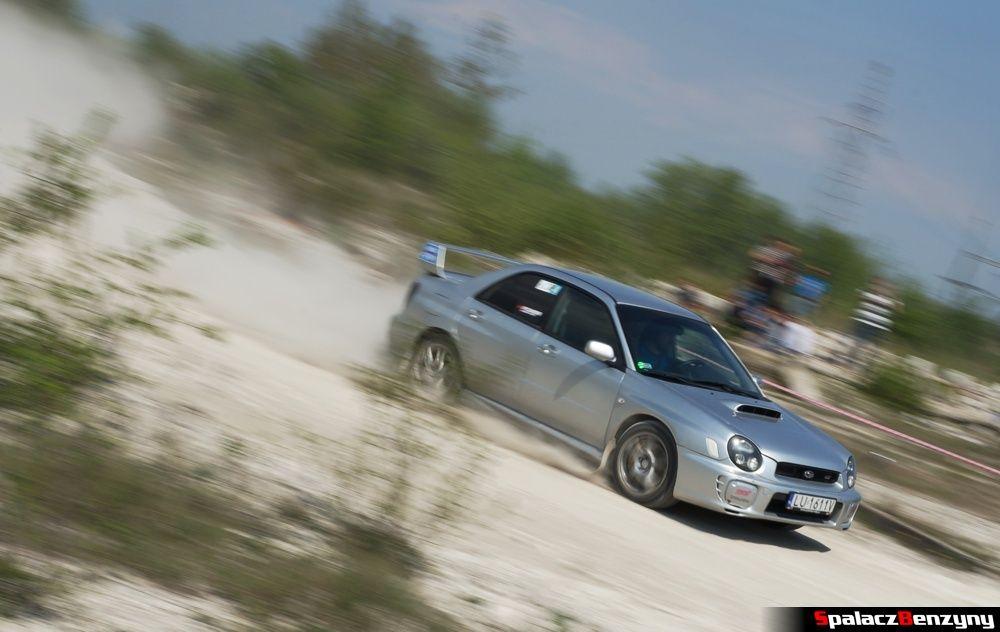 Jazda Subaru Impreza STI na szutrowy RS Chełm 1 maja 2014