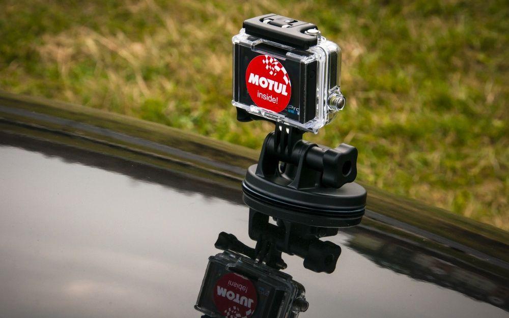 Kamera gopro 3 hero na masce na RS Auto Euro 2013
