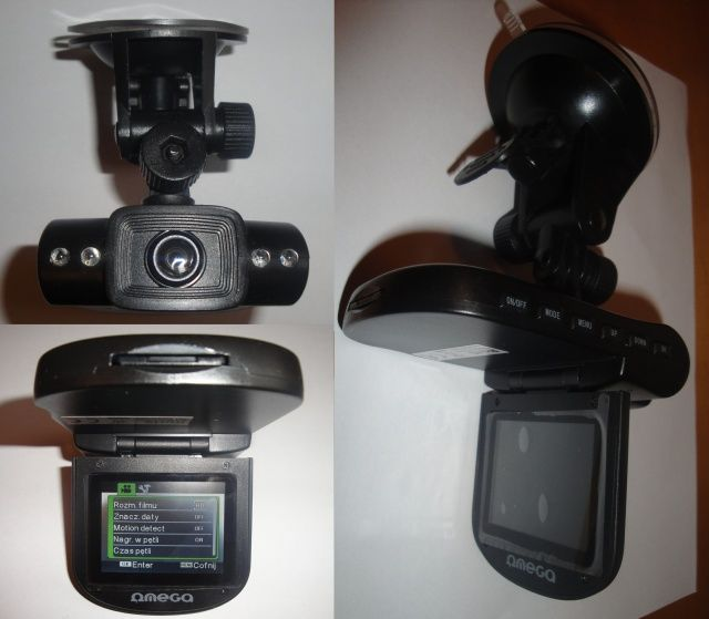 Kamera samochodowa Omega HD CAR DVR 720p
