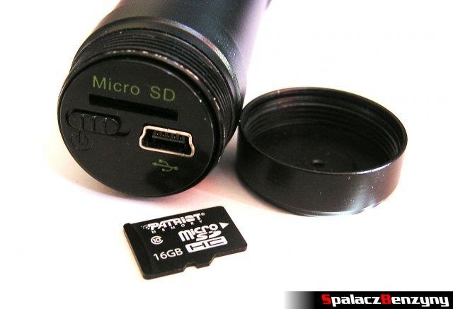 Karta pamięci microSDHC 16 GB Patriot i kamera samochodowa OctaCam C-260