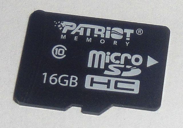 Karta pamięci Patriot microSDHC Class10 16GB