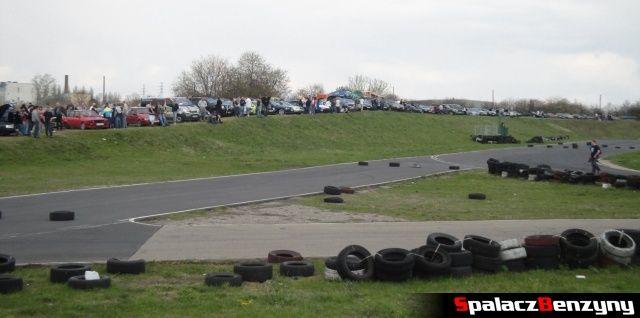 Kibice na na Rally Sprint Kulka 2012 w Lublinie