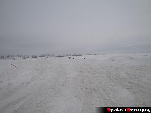 Kiepskie warunki na torze Snow Fun