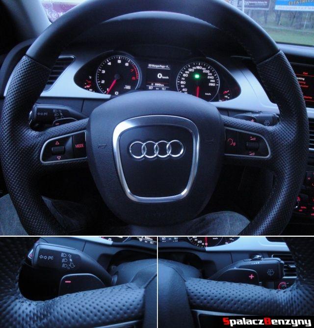 Kierownica z manetkami do biegów s-tronic w Audi A4 B8