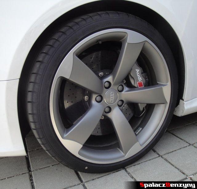 Koło Audi RS5 i hamulce ceramiczne na Worthersee 2013