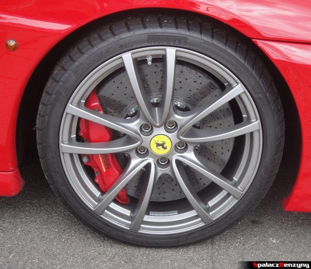 Koło Ferrari 430 Scuderia na Gran Turismo Polonia 2013