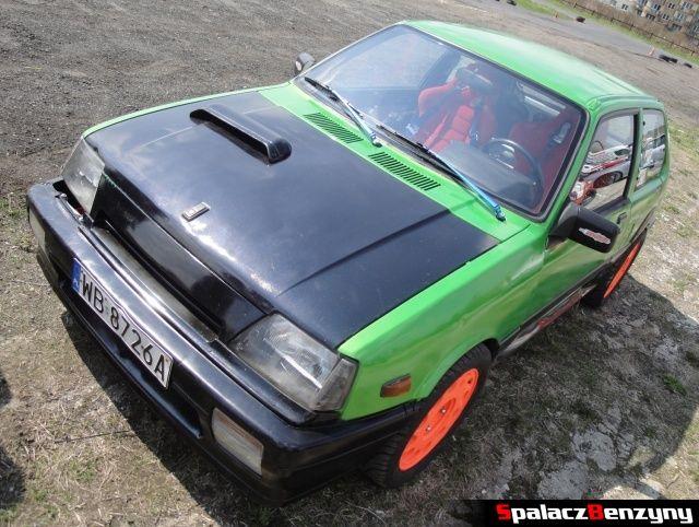 Kolorowe autko na Rally Sprint Kulka 2012 w Lublinie