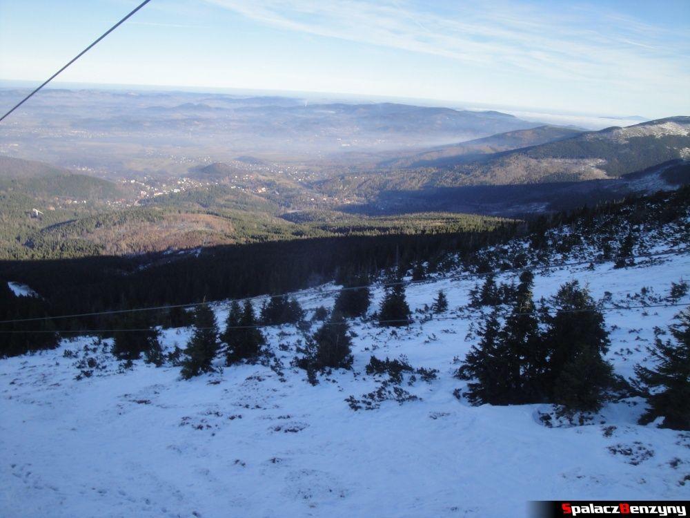 Krasa narciarska na Kopie w Karpaczu