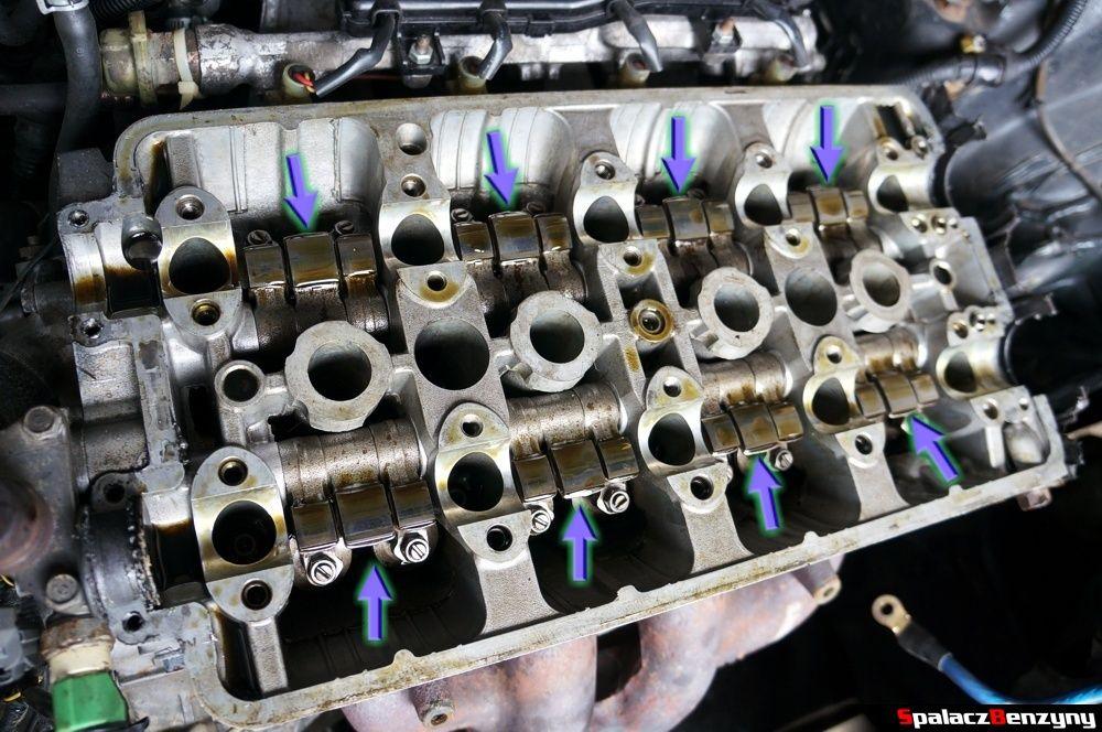 Krzywki wałka rozrządu w Honda Civic