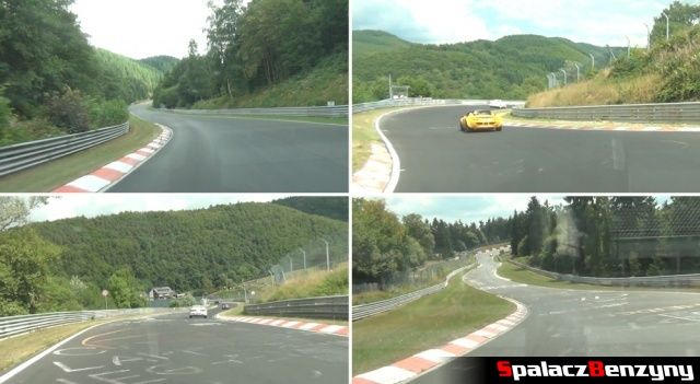 Ładne widoki na Nurburgring Nordschleife