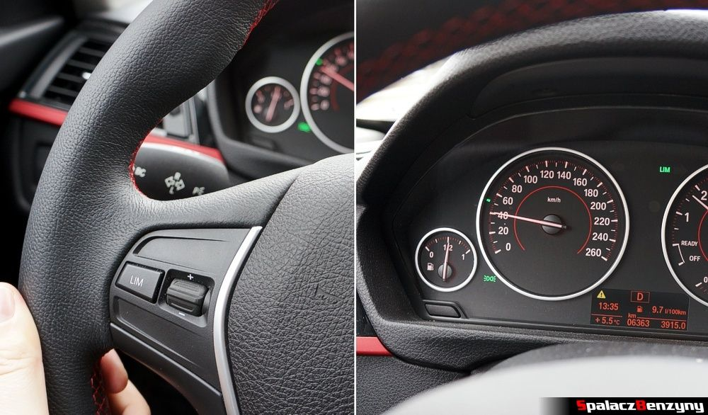 Limiter prędkości BMW 316i 2013