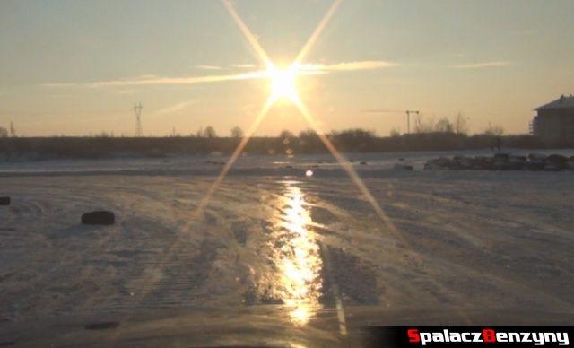 Lód na torze na RS WOŚP na Torze w Lublinie 2013