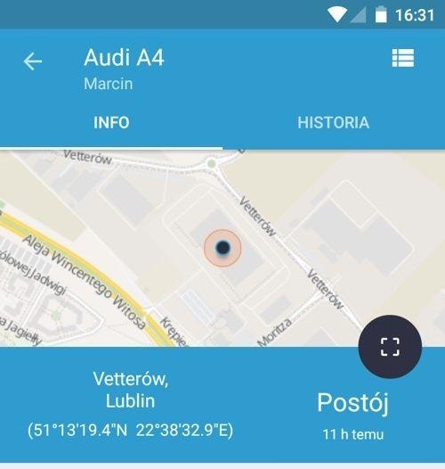 Lokalizator GPS IKOL w sortowni poczta polska