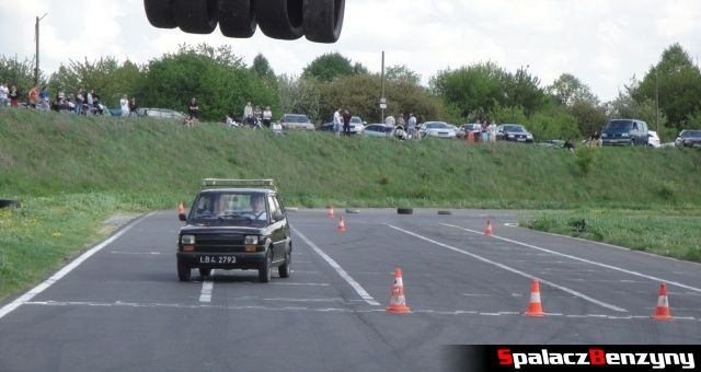 Mały fiat na Rally Sprint WORD 2012 w Lublinie
