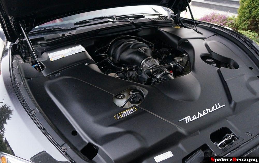 Maserati GranTurismo komora silnika