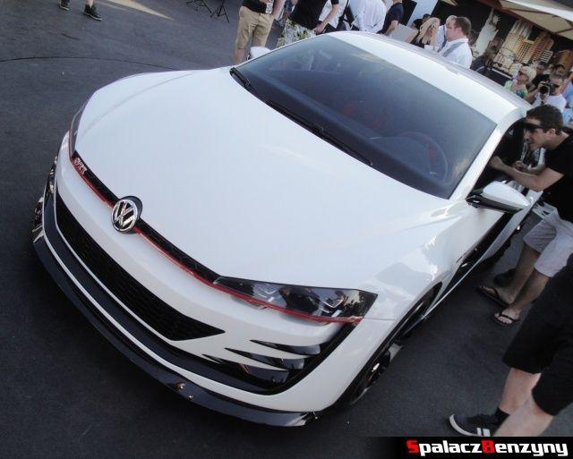 Maska, pokrywa silnika VW Golf GTI desing vision na Worthersee Tour 2013