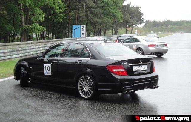 Mercedes C63 AMG bok na TPTD 25 maj 2013