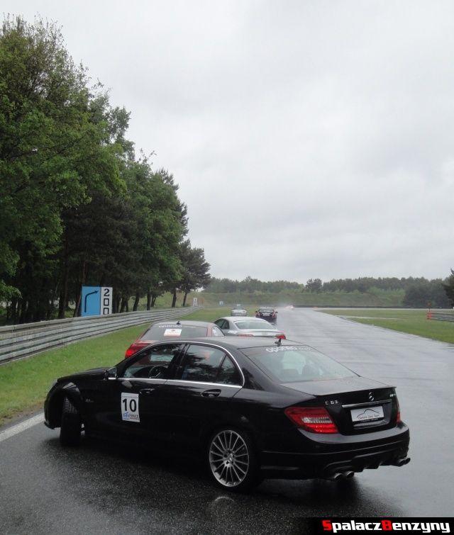 Mercedes C63 AMG na szkoleniu na TPTD 25 maj 2013