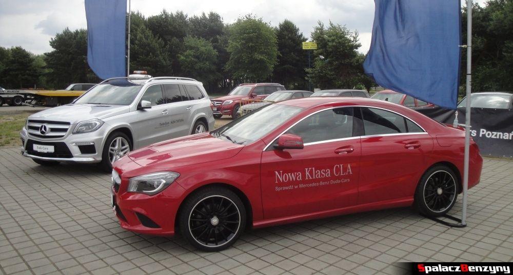 Mercedes CLA czerwony na Gran Turismo Polonia 2013