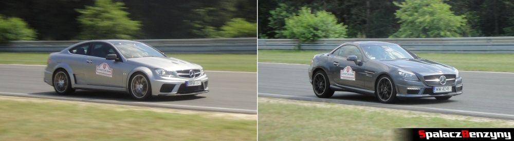 Mercedes na torze na Gran Turismo Polonia 2013