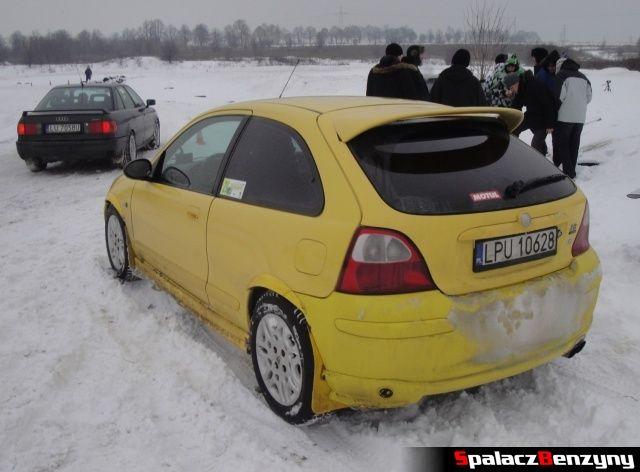 MG ZR na RS Rally na Torze w Lublinie 2013