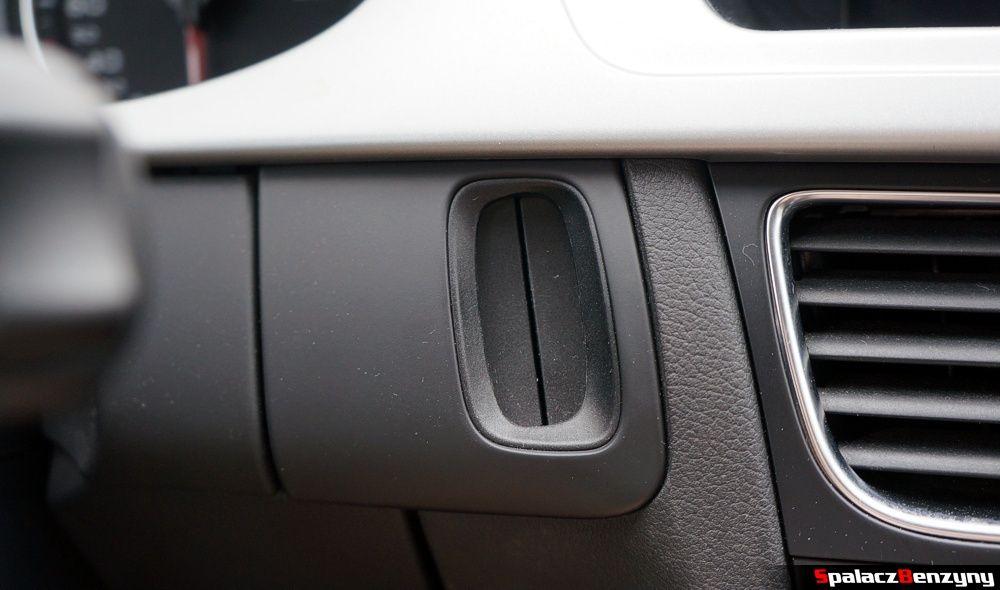 Miejsce na kluczyk w Audi A4 B8