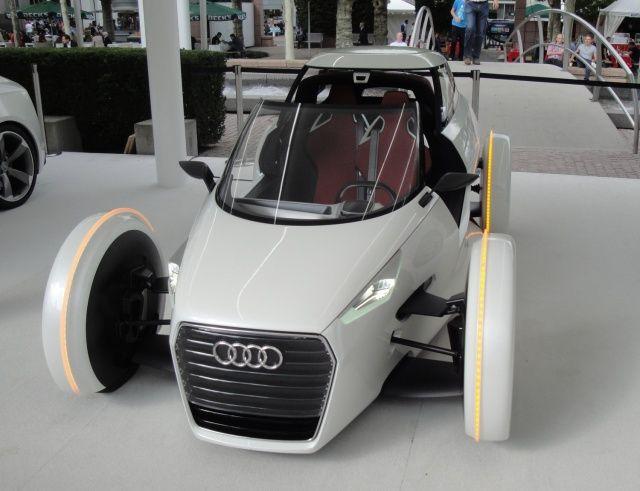 Miejskie koncepcyjne Audi na targach Frankfurt 2011