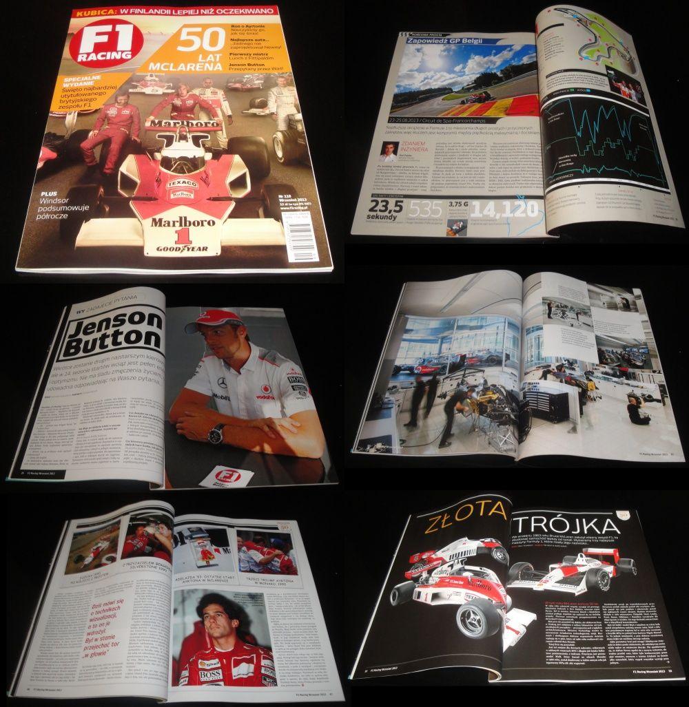 Miesięcznik F1 Racing wrzesień 2013