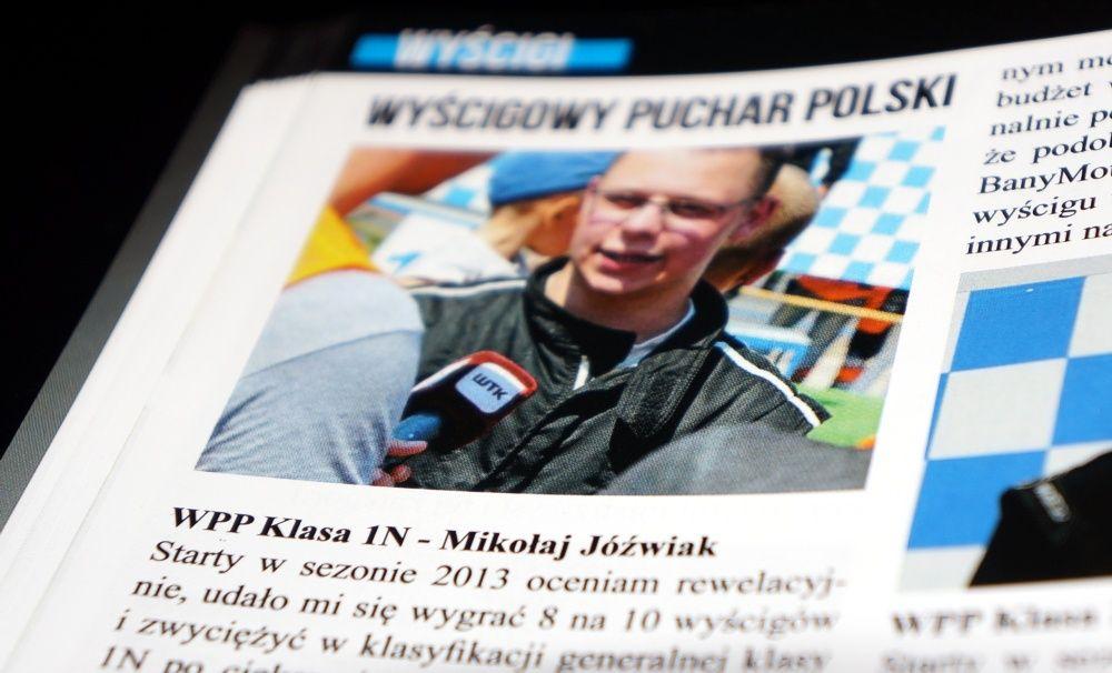 Mikołaj Jóźwiak w Rally nad Race nr 8