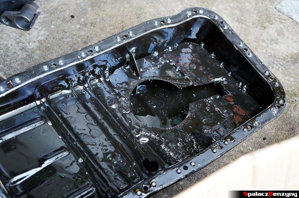 Miska olejowa z przegrodą w Honda Civic