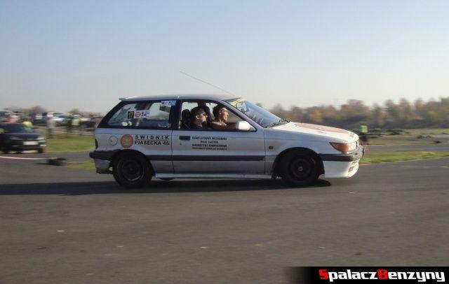 Mitsubishi na Rally Sprint Cemax 2012 w Lublinie